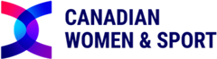 Canadian Women & Sport Logo